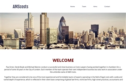 AMS Costs - Chancery Lane solicitors web design by Toolkit Websites, professional web designers