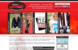 Kaz Aston - Charity website design by Toolkit Websites, professional web designers
