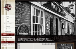 Victoria Inn - Pub website design by Toolkit Websites, professional web designers
