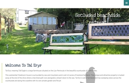 Welsh Country Holiday - Rental property website design by Toolkit Websites, professional web designers