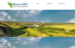 Phoenix Home Care - Care website design by Toolkit Websites, professional web designers