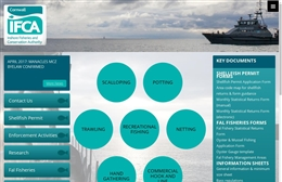 Cornwall IFCA - website design by Toolkit Websites, professional web designers