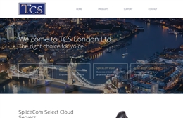 TCS London Ltd - IT website design by Toolkit Websites, professional web designers