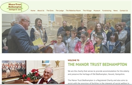 The Manor Trust - Charity web design by Toolkit Websites, professional web designers