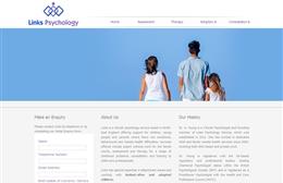 Links Psychology - Psychology website design by Toolkit Websites, professional web designers