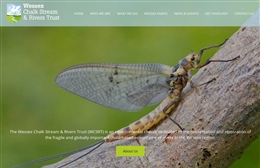 Wessex River Trust - Not for profit web design by Toolkit Websites, professional web designers