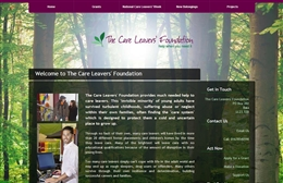 Care Leavers' Foundation - Charity web design by Toolkit Websites, professional web designers