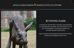 Farquharson Duffy Sculpture - Sculptors website design by Toolkit Websites, expert web designers