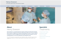 Henry Dowson - web design by Toolkit Websites, professional web designers
