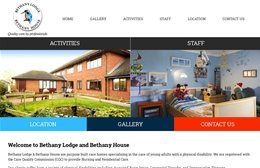 Bethany Lodge Kent Ltd - Care Home website design by Toolkit Websites, professional web designers