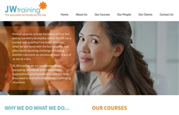 JW Training - Coaching website design by Toolkit Websites, professional web designers