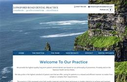 Longford Road - Dentist website design by Toolkit Websites, professional web designers