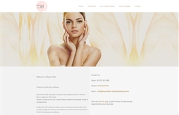 Beauty4life - website design by Toolkit Websites, professional web designers