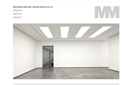 Maybank & Matthews - Architects website design by Toolkit Websites, professional web designers