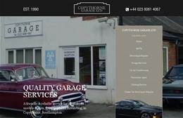 Copythorne Garage - Automotive website design by Toolkit Websites, expert web designers