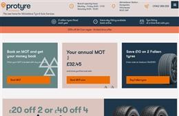Micheldever Tyres - Automotive website design by Toolkit Websites, expert web designers