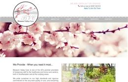 Blossom Valley - Nursing website design by Toolkit Websites, professional web designers