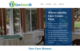 Care Homes UK - Care Home website design by Toolkit Websites, professional web designers
