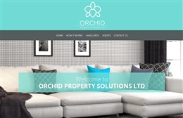Orchid Property Solutions - Property web design by Toolkit Websites, professional web designers