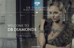 DB Diamonds - Jewellery website design by Toolkit Websites, professional web designers