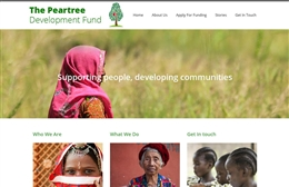 Charity web design by Toolkit Websites, professional web designers