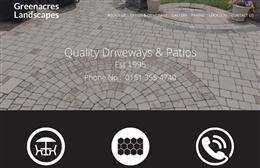 Greenacres - Landscaping web design by Toolkit Websites, professional web designers