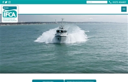 Sussex IFCA - website design by Toolkit Websites, professional web designers