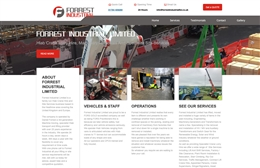 Forest Industrial - website design by Toolkit Websites, professional web designers