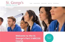 Medical training website design by Toolkit Websites, professional web designers