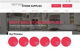 West end Stone Supplies - website design by Toolkit Websites, professional web designers