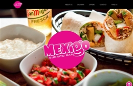 Mexigo - 1-page website design by Toolkit Websites, professional web designers