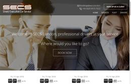 SECS London - Website design by Toolkit Websites, professional web designers