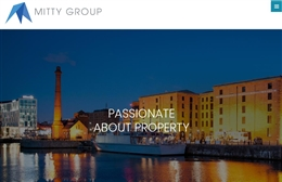 Mitty Group - Property website design by Toolkit Websites, professional web designers