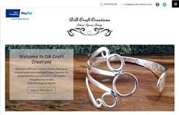 DB Craft Creations - Streetwear website design by Toolkit Websites, professional web designers