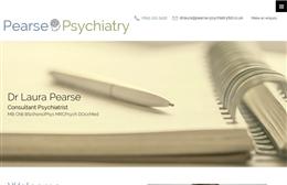 Pearse Psychiatry Ltd - Psychiatry website design by Toolkit Websites, professional web designers