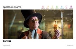 Spectrum Drama - web design by Toolkit Websites, professional web designers
