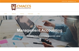 Crisp Management & Accounting Services - Accountancy web design by Toolkit Websites, professional web designers