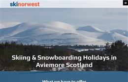 Ski Norwest - Website design by Toolkit Websites, professional web designers