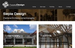 Sepia Design - Architects web design by Toolkit Websites, professional web designers