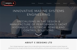 C Designs Ltd - website design by Toolkit Websites, professional web designers