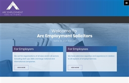 Arc Employment Solicitors - Solicitor web design by Toolkit Websites, professional web designers