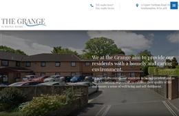 The Grange Nursing Home - Care Home website design by Toolkit Websites, professional web designers