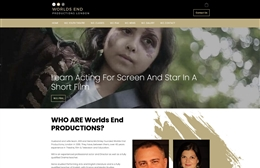 We Productions - Theatre production company web design by Toolkit Websites, professional web designers